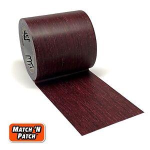 Match 'N Patch Realistic Wood Grain Repair Tape, Dark Cherry