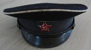 Russische Rote Armee Marine Schirmmütze