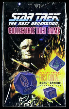 Star Trek The Next Generation Dice Game First Contact Borg Sphere Starter Set