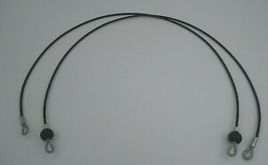 "Bowflex Xtreme Rod Cables 41"" Lot of 2"