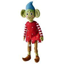 Ikea Elf Doll Toy Holiday Christmas Xmas Krullig Green Plush
