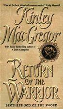Return of the Warrior (Brotherhood of the Sword, Book 2) by Kinley MacGregor