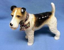 COOPERCRAFT MADE IN ENGLAND WIRE HAIRED  FOX TERRIER DOG FIGURINE EXCELLENT