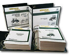 TECHNICAL SERVICE & TESTING MANUAL SET FOR JOHN DEERE 4050 4250 4450 TRACTOR