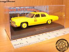 CHEVROLET BEL AIR TAXI CAB 1:43 NEW YORK (USA) 1973 MINT!!!