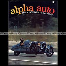 ALPHA AUTO N°141 CYCLECAR SANDFORD SAAB SALMSON RALLYE SAN REMO GUZZI 500 V8 GP