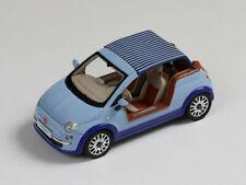 Premium X PR0255 1/43 Fiat 500 Tender Two Castagna Milano 2008 Light Blue Resin