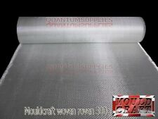 300g Fibreglass Woven Roving Mat 300gm 10m X 1m Uses Resin GRP Moulds