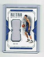 2018-19 Panini National Treasures Retro Materials /99 Christian Laettner #RE-CLT