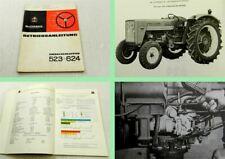 IHC Mc Cormick 523 624 Schlepper Betriebsanleitung Bedienungsanleitung 1966