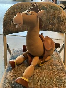 Disney Pixar Toy Story Signature Collection Thinkway Toys Bullseye Woody's Horse