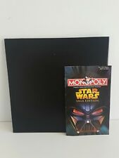 MONOPOLY Star Wars SAGA EDITION - GAME BOARD & Instruction Booklet Replacement