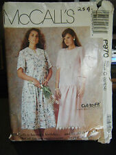 McCall's P970 Misses Dresses Pattern - Size 10 & 12