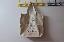 Hollister tote bag--white creamy color