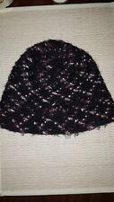 Madison 88 NY Winter Knit BEANIE Stylish Snow Hat Cap Pink Black