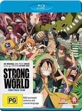 One Piece Movie - Strong World (Blu-ray, 2014) Region B