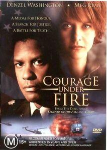 Courage Under Fire DVD Denzel Washington Movie Meg Ryan - FREE POST AUSTRALIA