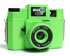 Holgaglo Neon Green 120 N Glow in Dark  Camera NEW Holga 304-120 FREE USA SHIP