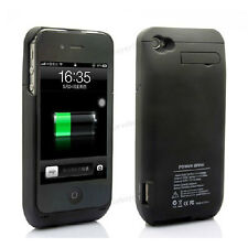 3000mAh Portable External Backup Battery Power Bank Charger Case For iPhone 4 4S