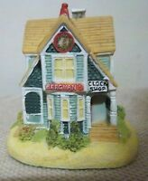 NEW LIBERTY FALLS COLLECTION~BERGMAN'S CLOCK SHOP~AH104~1994