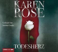 Todesherz Karen Rose gelesen von Sabina Godec 9783785746592 6 CDs KI2906