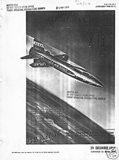 X-15 Jet Rocket rare historical manual archives 1950's NASA space exploration