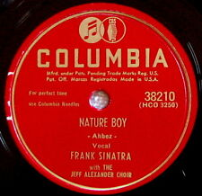"FRANK SINATRA ""NATURE BOY"" & ""S'POSIN'"" - 78 rpm COLUMBIA"