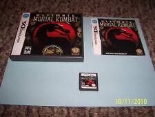 Ultimate Mortal Kombat  (Nintendo DS, 2007) complete