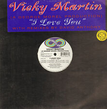 VICKY MARTIN - I Love You - 1996 - Groove On - GO-46 - Usa