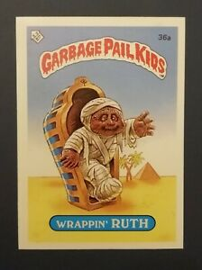 Wrappin Ruth 36a UK Garbage Pail Kids Series 1(1985)Topps~NMT/MINT~Pack Fresh