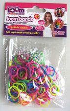 Amicizia Loom Bande Ricarica 150 x bande colorate BUBBLE intreccio + 12 clip-NUOVO