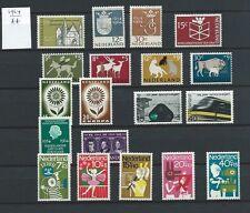 Niederlande Jahrgang 1964 Postfrisch nach NVPH Komplett