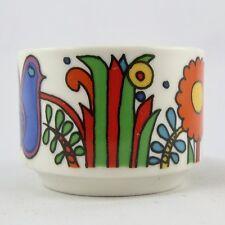 """COQUETIER """"Acapulco"""" VILLEROY & BOCH Eggcup Design VINTAGE Sixties/loft/60/70"""