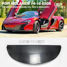 For Mclaren 650S MP4 Carbon Fiber OEM Front Bumper Bottom Lip Splitter Body Kits