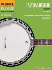 Easy Banjo Solos for 5-String Banjo : Hal Leonard Banjo Method by Mac Robertson