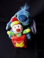 """Disney Store Lilo and Stitch with Jack in the Box toy plush Stuffed Animal 6"""""""
