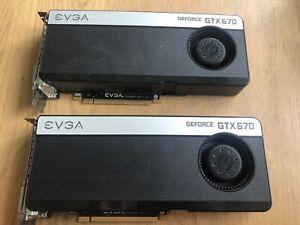 EVGA GeForce GTX670 2G x2