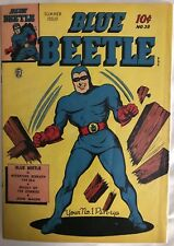 (1942) Fox Comics BLUE BEETLE #38! Golden age! Rare!