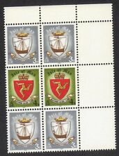 Island Of Man 146 & 147 Block of 6 Stamps 1979 Viking Ship MNH #3