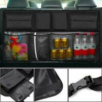 Universal Car Trunk Organizer Rear Back Seat Storage Holder Bag Net Tool Me O3C0