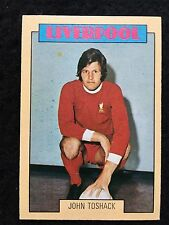 A&BC 1973/74 Footballer Blue backs 2nd Series John Toshack Liverpool - Variant