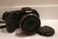 Nikon COOLPIX L320 16.1MP Digital Camera - Black For Parts.. NO POWER