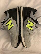 New Balance 574 ENCAP Women's Size 8.5 Running Shoes Gray And Neon, WL574WTA