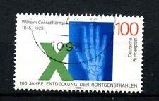 Alemania 1995 Sg # 2625 Wilhem Rontgen los rayos X utilizados #a 24431