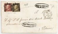 ROW211) Italian States: Sicily 1859 MAGNIFICENT COVER