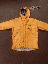 Patagonia Vintage 3 Layer Goretex  Jacket Mens Size Medium Yellow