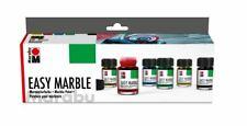 Marabu Marmorierfarbe Easy Marble Starter Set Ostereier Stoffe färben marmoriere