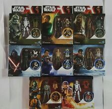 Star Wars TFA 8 Set 3.75 Figures