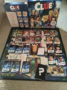 2015 Clue Classic Mystery Board Game Replacement Parts Weapons Cards