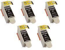 5 Kodak 30 Black XL Ink Cartridge for 30XL Printers ESP C315 C310 C110 C115 Hero